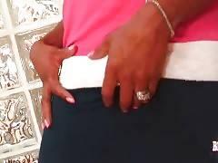 Lovely Ebony Tranny Ambrosia Is Very Horny 3