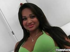 Take a look at this awesome latin tgirl Andrezza.