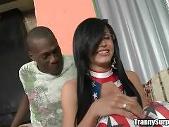 Awesome Tranny Bruna Butterfly Is Cock Hungry 2