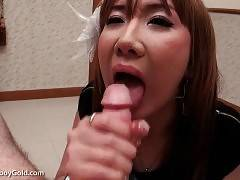 This Ladyboy Is Good At Cock Sucking 2