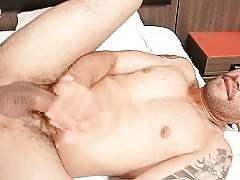 Pretty she-male pleasures her friend with good deep anal.