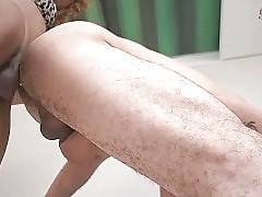 In this porn video you can see admirable slut