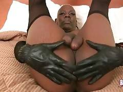 This Ebony She-Male Needs A Good Slave 3