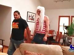 Ant Invites Slutty Tranny Eden Orchid To His Place 1