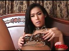 Awesome Ladyboy Gor Is Caressing Herself 1