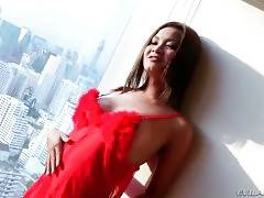 Awesome Asian Tranny Ben Shows Her Charms 1