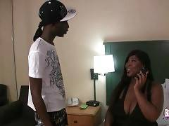 Busty T-Ebony Kandi Bunz Looks For Fun 1