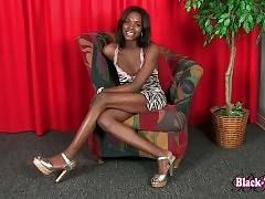 Have Fun With Sexy Black Tranny Kandi Kane 2