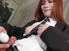 Slutty Asian Tranny Does Hot Solo Show 1